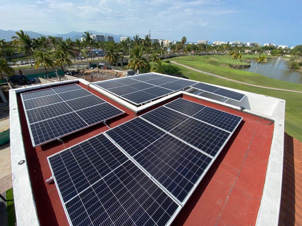 Eco Green Energy solar installation Mexico 410W