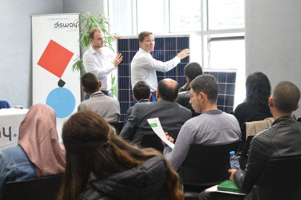 training presentation in morocco part II