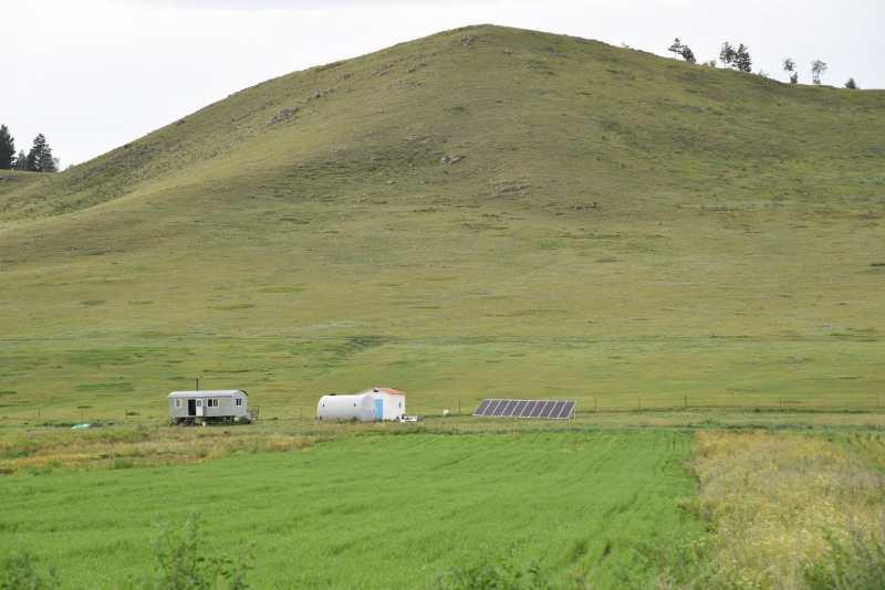 sistema fuera de la red de 5kW en Mongolia